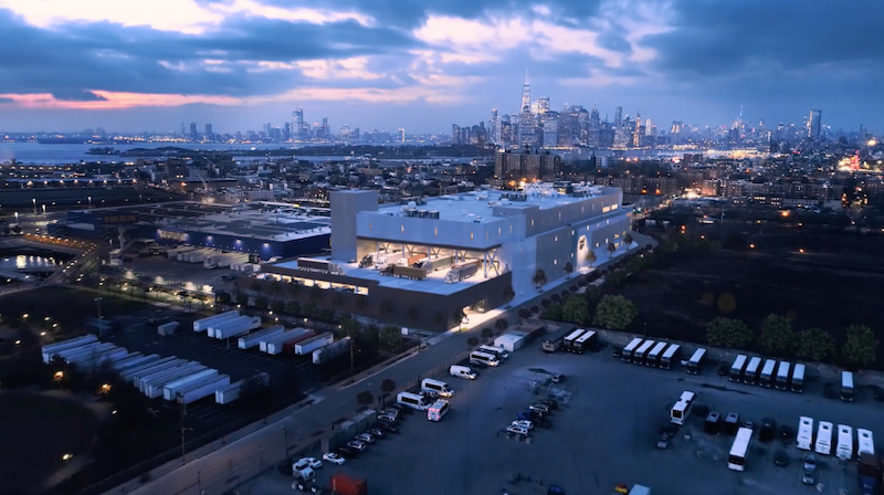 640 Columbia, a new distribution center in Brooklyn, N.Y.