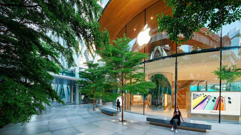 Apple Central World exterior