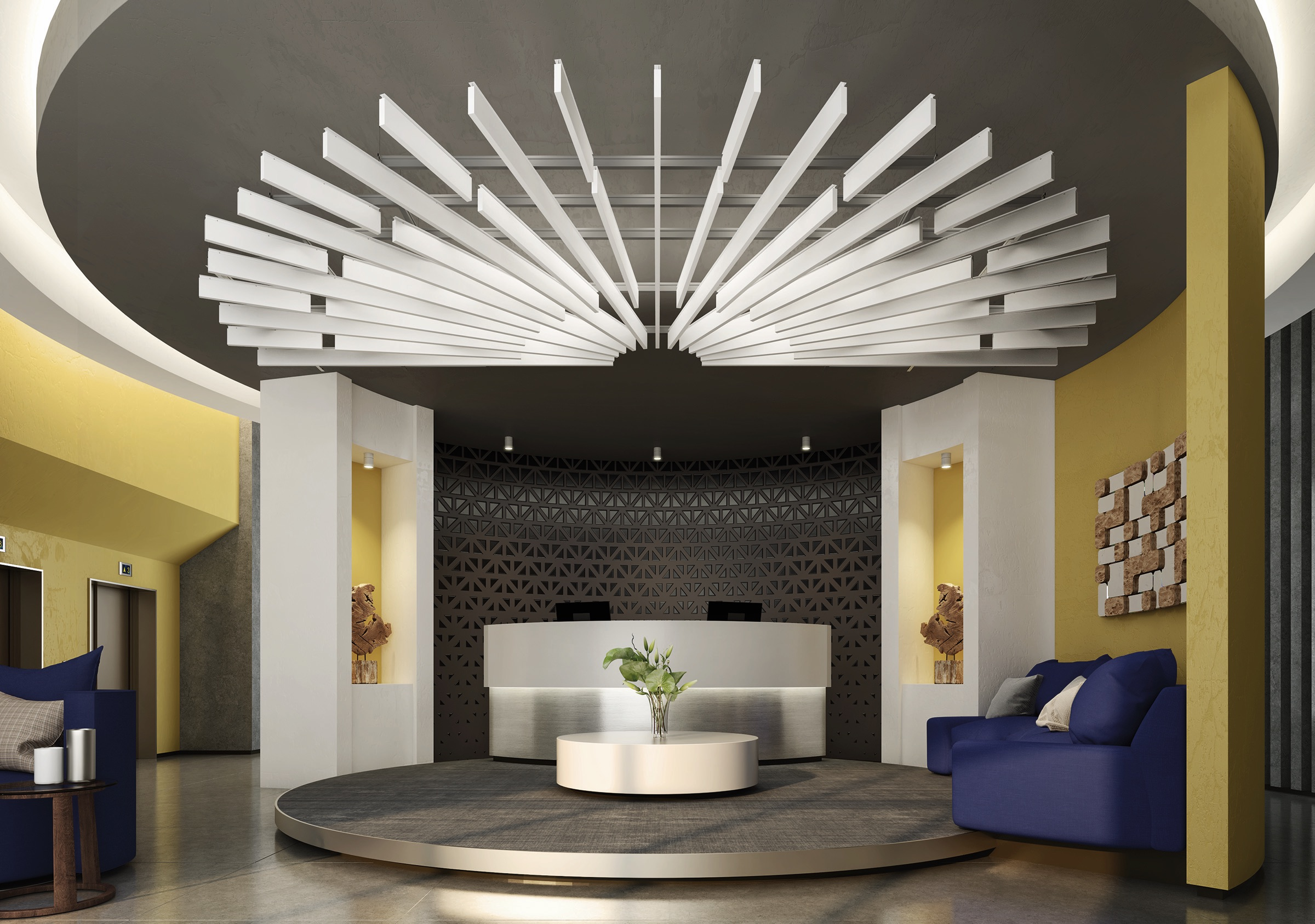 Metalworks blades from Armstrong ceilings