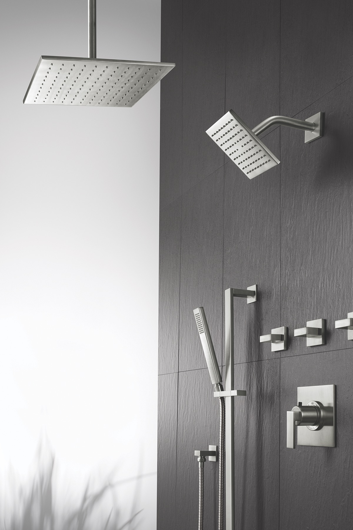 California Faucets Ultra Thin Showerhead
