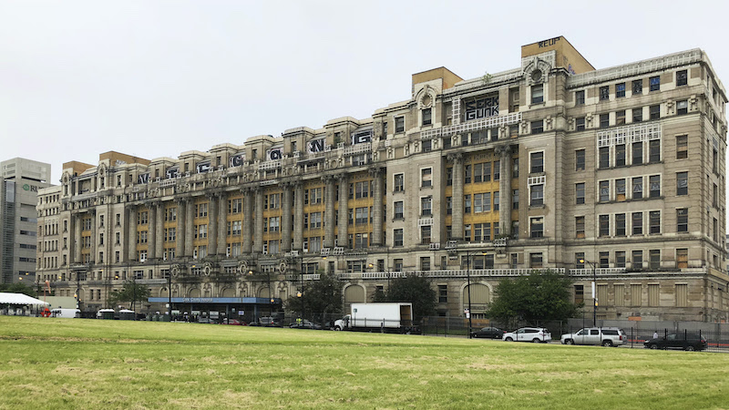 Cook County Hospital before renovation