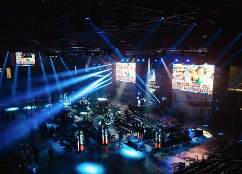 DC entertainment and sports venue eSports event