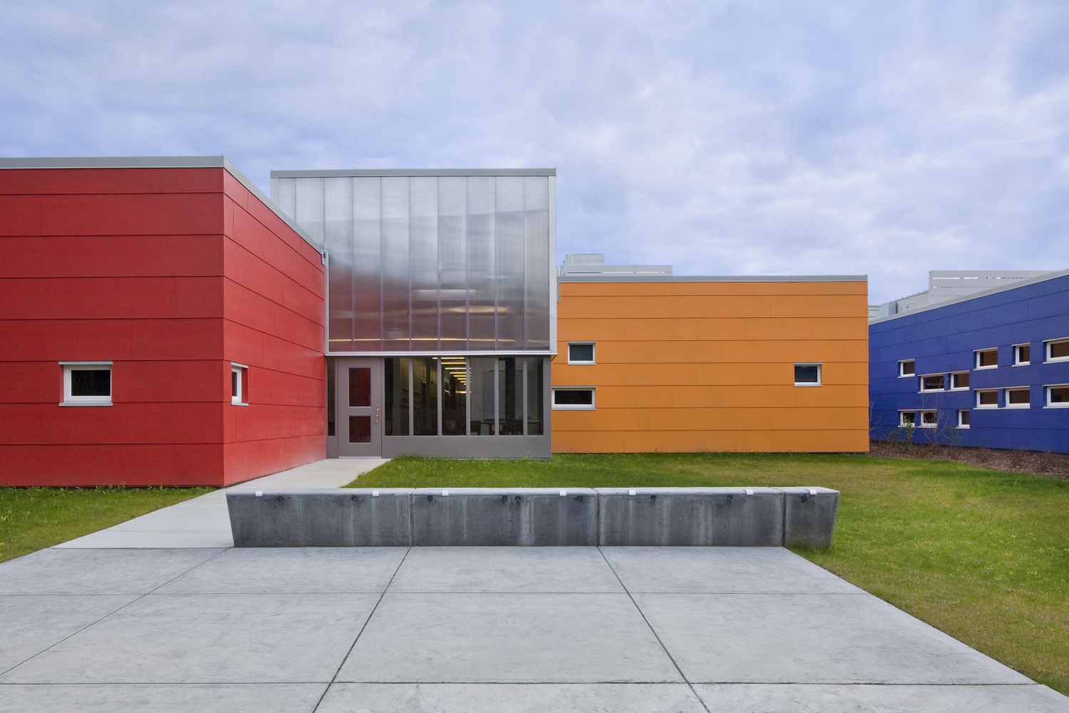 Brightening Young Minds with Color | Building Design + ...