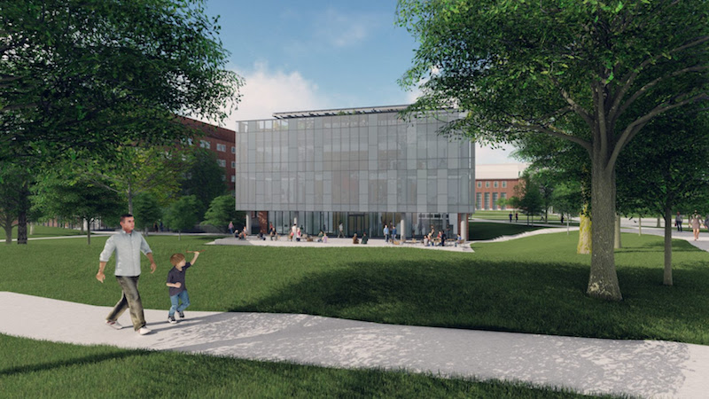 Dana Hall renovation project
