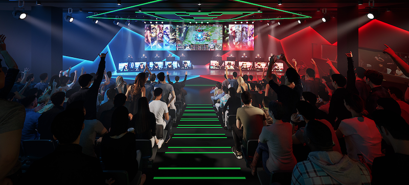 Fortress esports stage