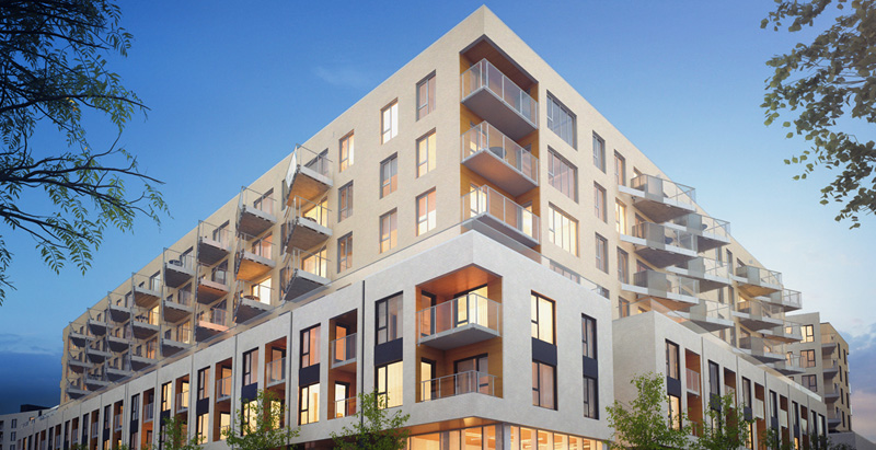 Montreal apartment is world's largest residential cross-laminated timber project