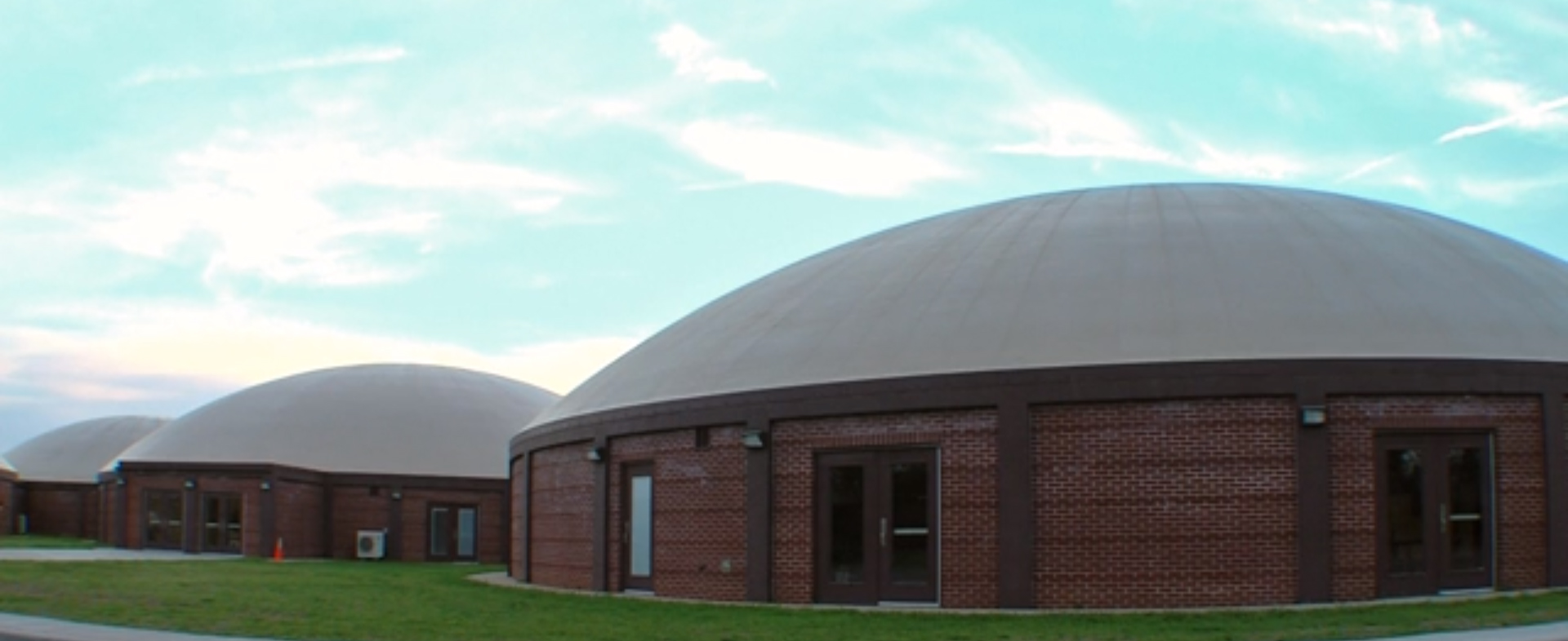 virtually indestructible utah architect applies thin shell dome