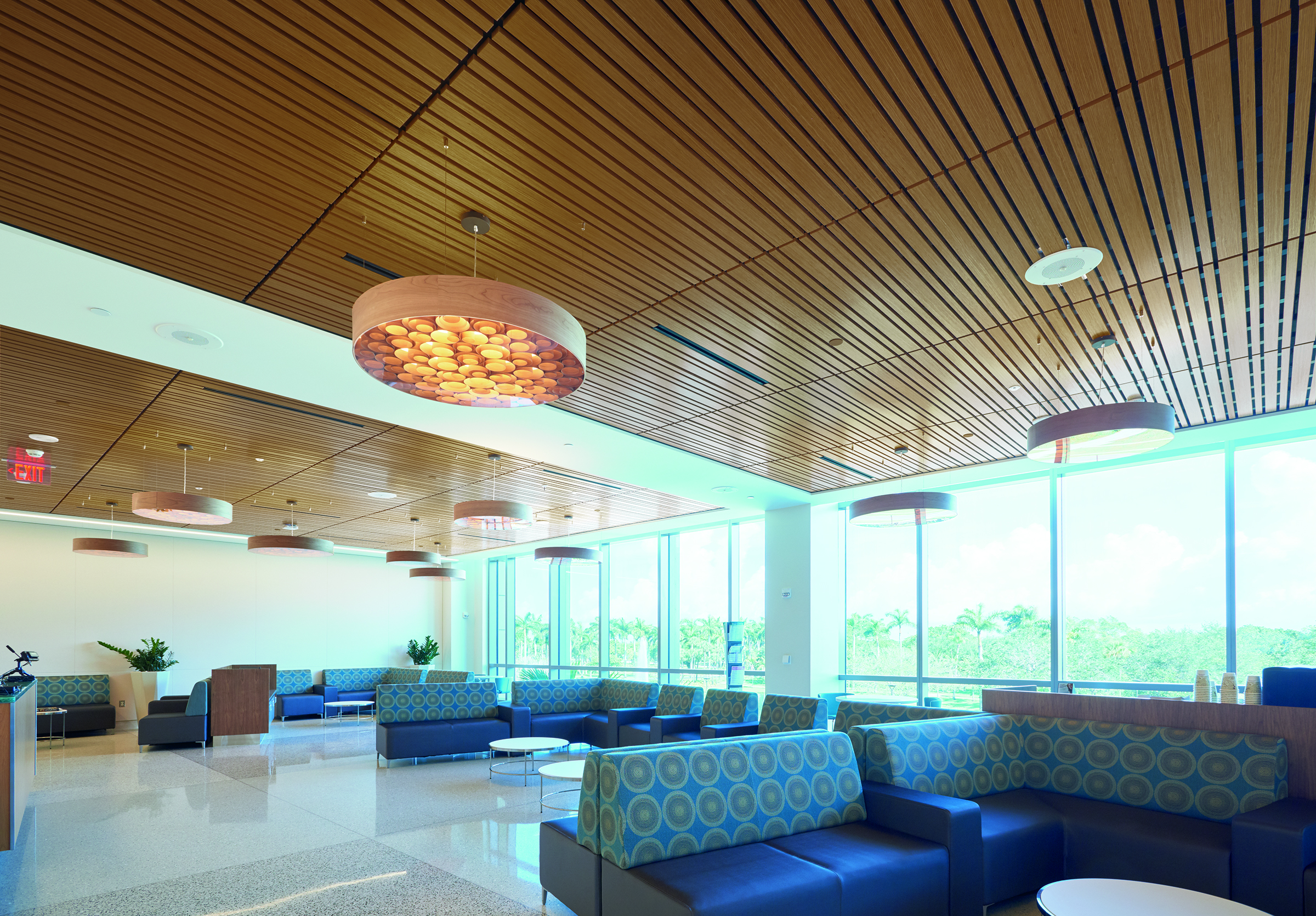Wood Ceilings Reinforce Connection To Nature At South