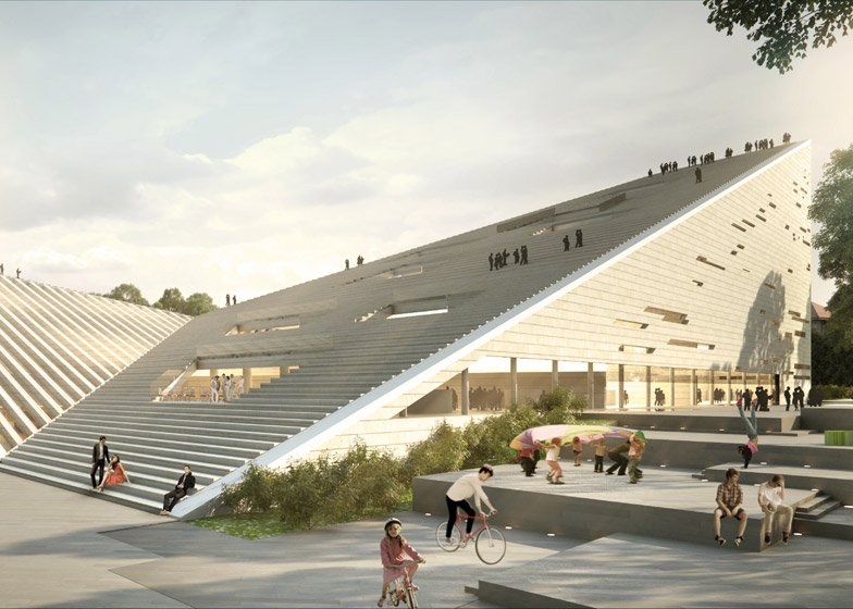Sanaa And Sn 248 Hetta Tie At First Place For Budapest Museum