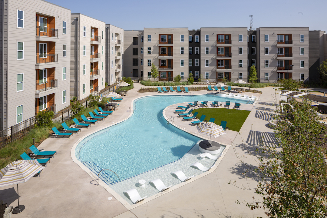 Pool at UT's Northside Phase 2