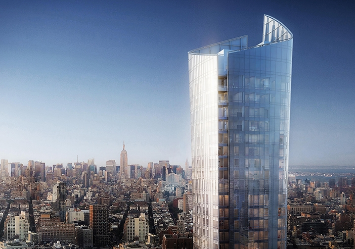 New York, Manhattan, condos, luxury, Kohn Pedersen Fox Associates