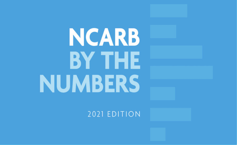 NCARB's latest report includes pass results by demographic groups.