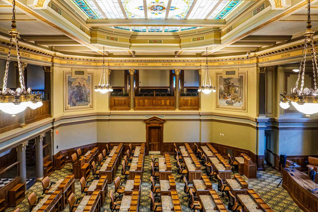 Wyoming Capitol House of Representatives Chambers