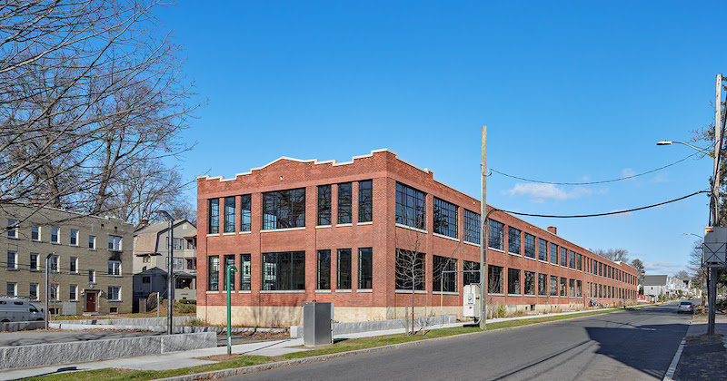 Swift Factory exterior in Connecticut