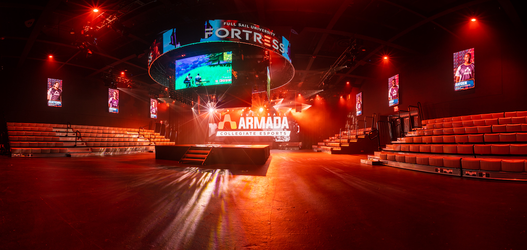 The Fortress eSports arena