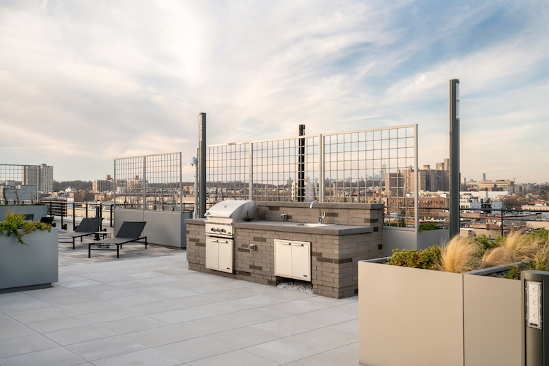 The Lois rooftop space