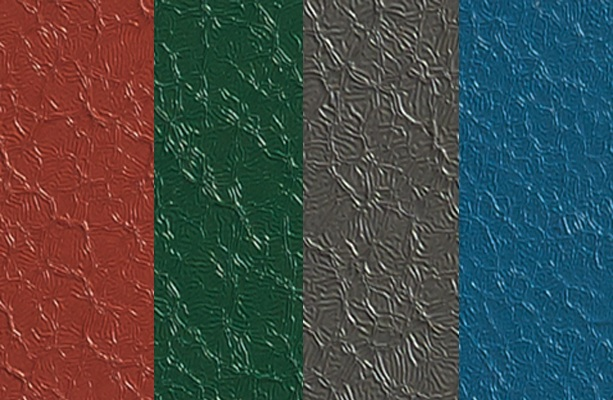 WeatherXL™ crinkle finish brings visual depth to projects