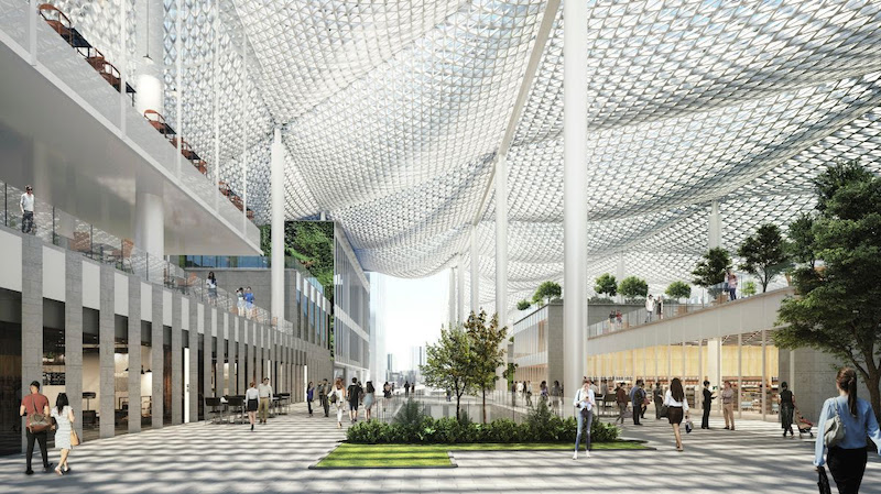 zhuhai neighborhood canopy and retail