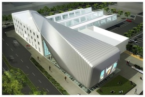 Adaptive reuse and addition will create art museum and film archive