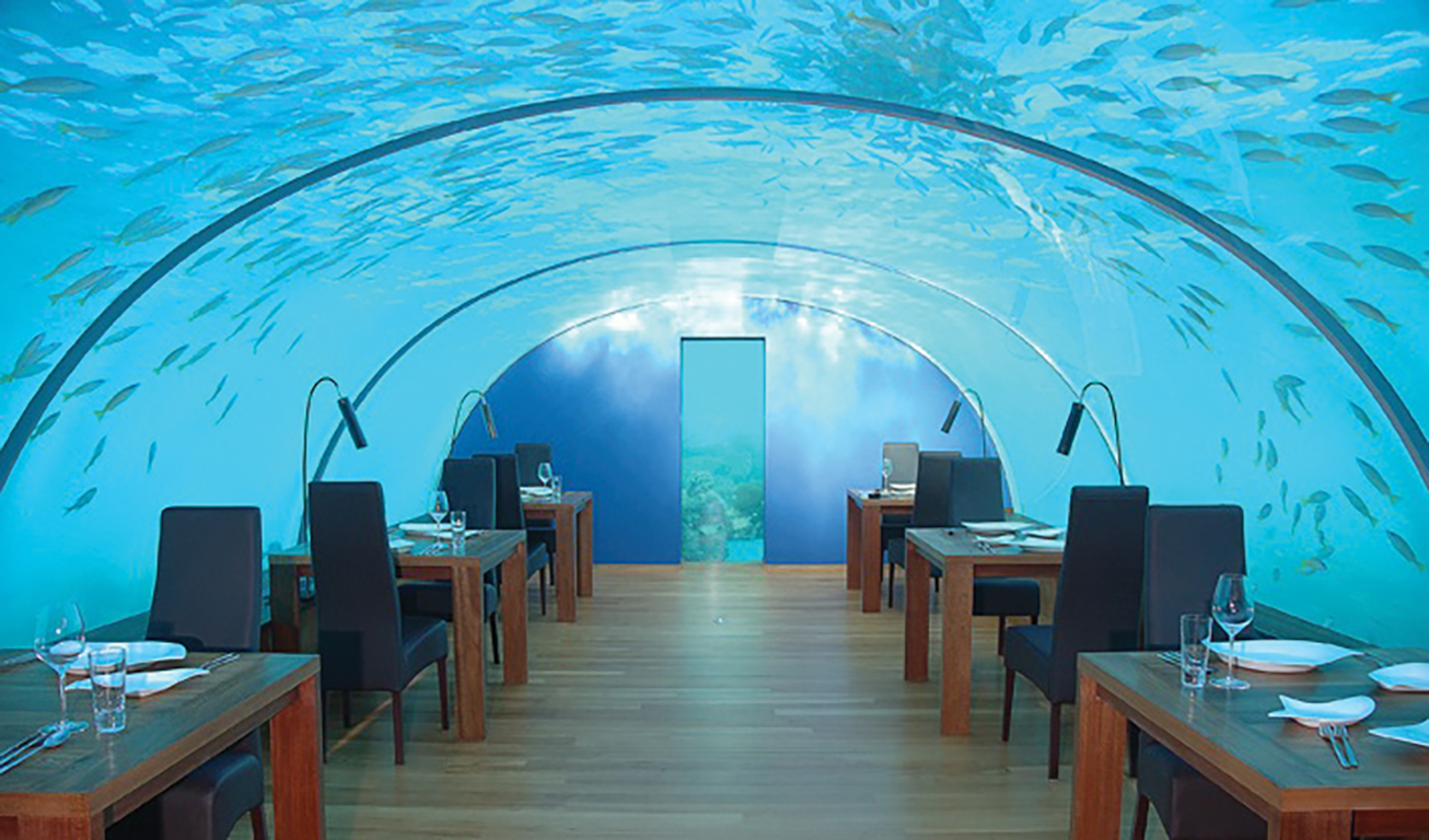 click here to enlarge - Underwater World Restaurant