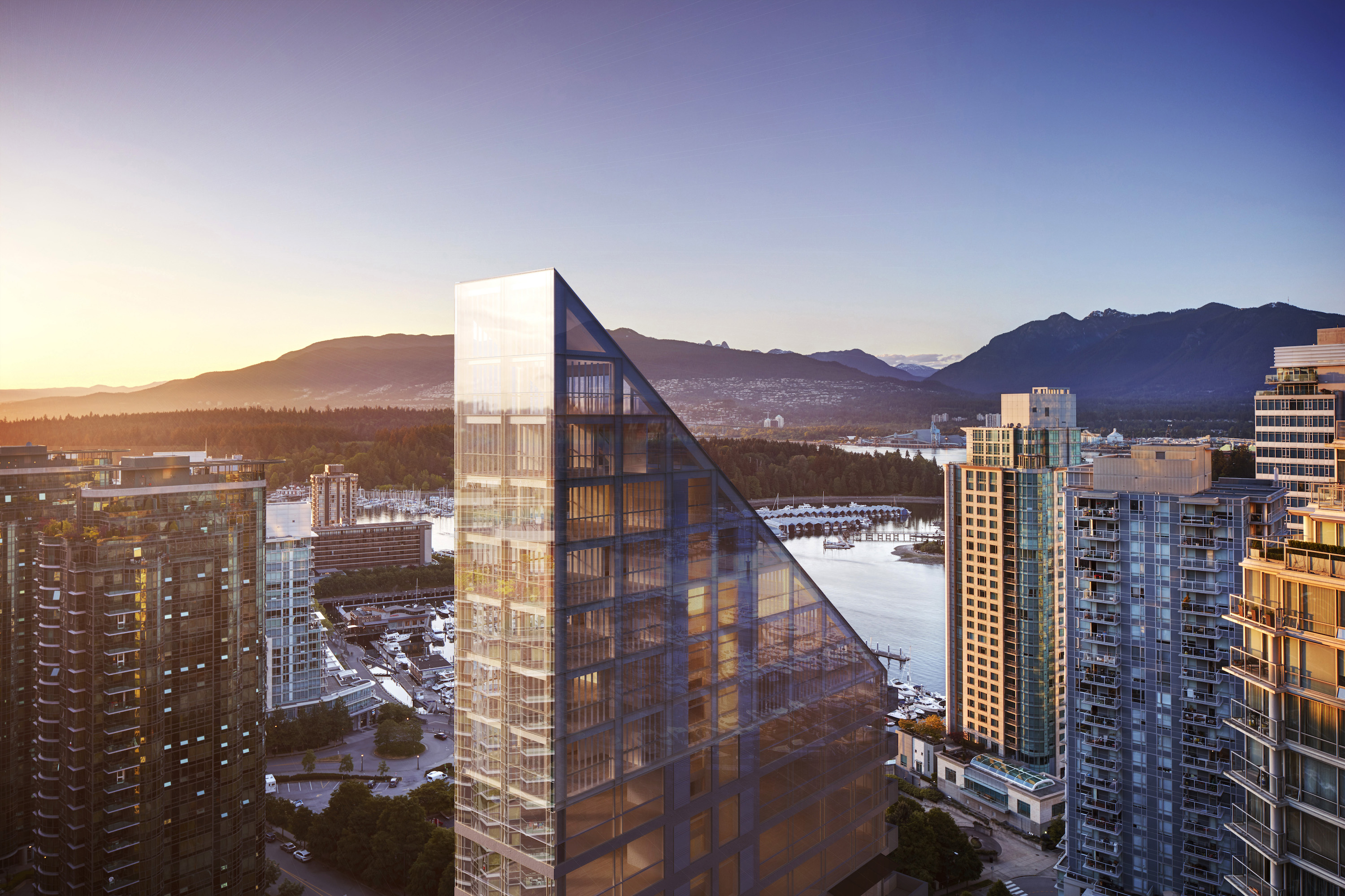 Shigeru ban designs tower expected to be world s tallest for Terrace house new season