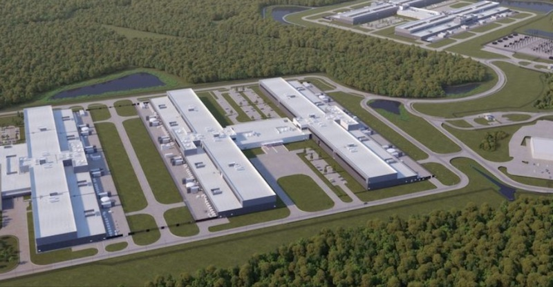 Facebook's data center in Newton, Ga., which it plans to expand