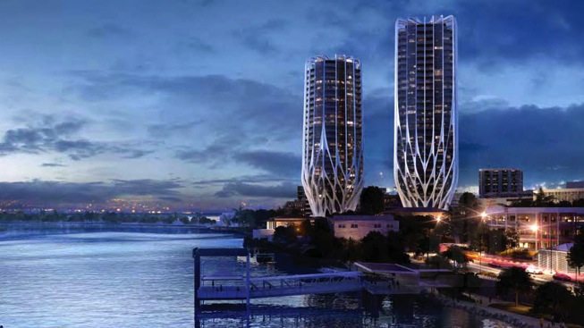 Renderings courtesy of Zaha hadid via Gizmag