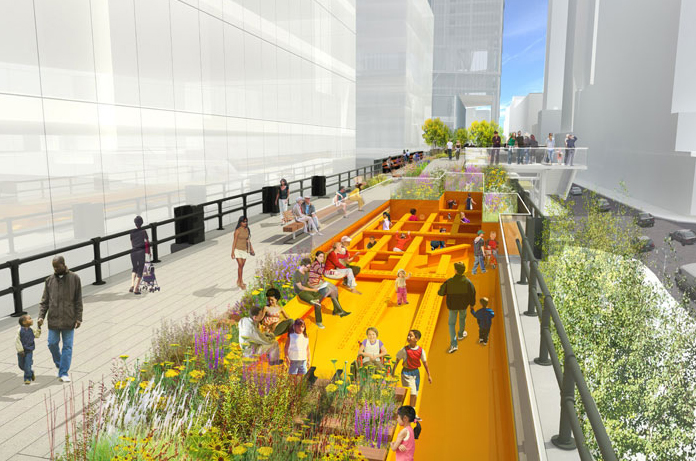 All renderings: James Corner Field Operations; Diller Scofidio + Renfro; and Pie