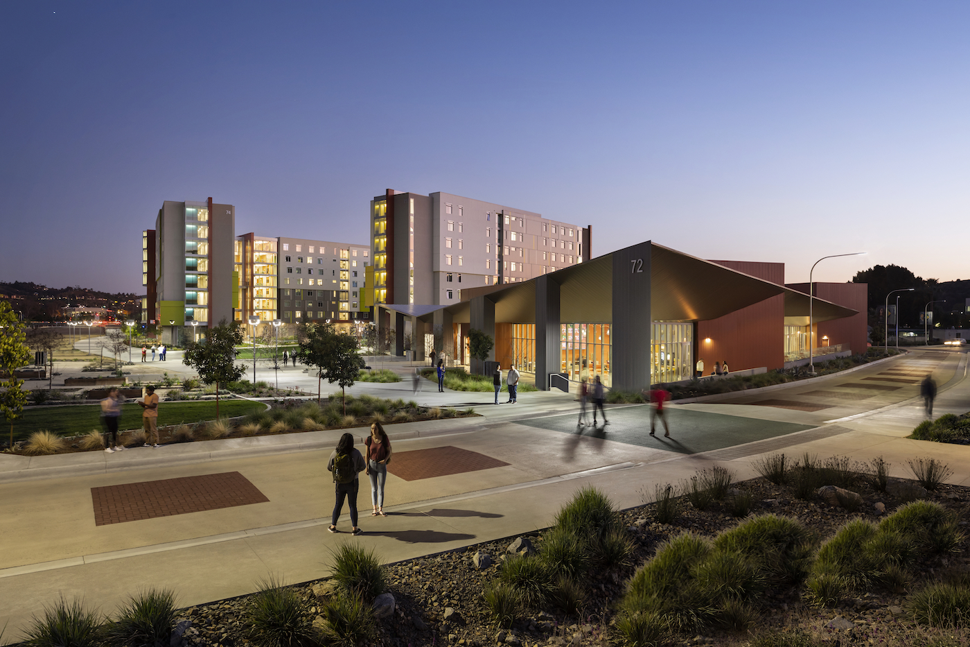 HOUSING AND DINING COMMONS at California State Polytechnic University–Pomona 2 2020 student housing report