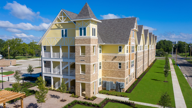 NORTH FLATS student housing development at Austin College 2020 student housing report