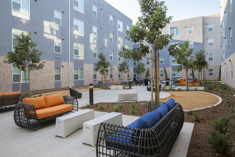THE HARBOUR student housing development at Orange Coast College 2020 student housing report