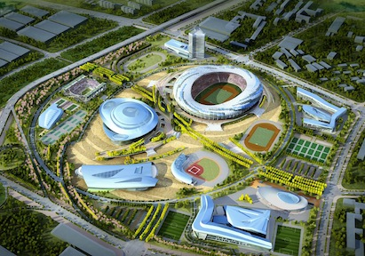 The $1.5 billion project is the initial seed of urban development in the area. I