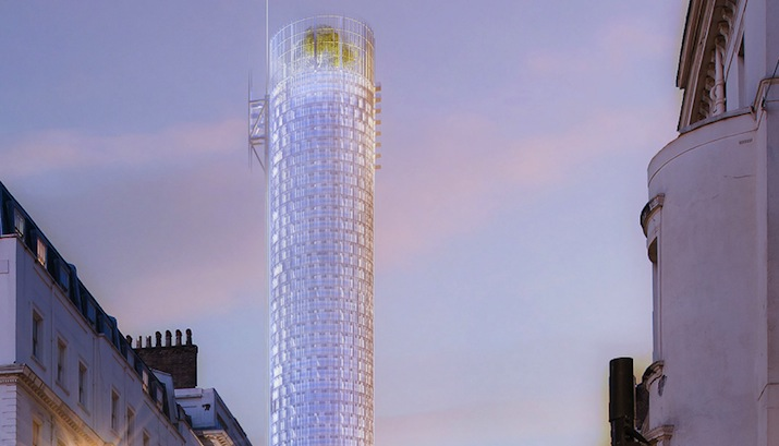 Three years after The Shard, Renzo Piano reveals plans for new London tower