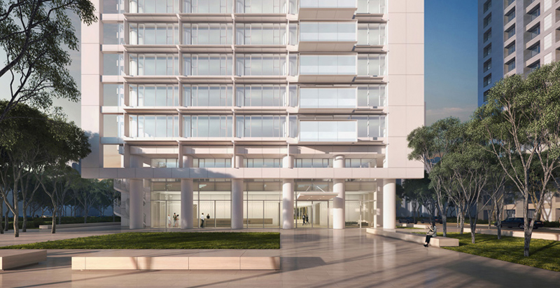 Richard Meier & Partners unveil Taipei residential high-rise design
