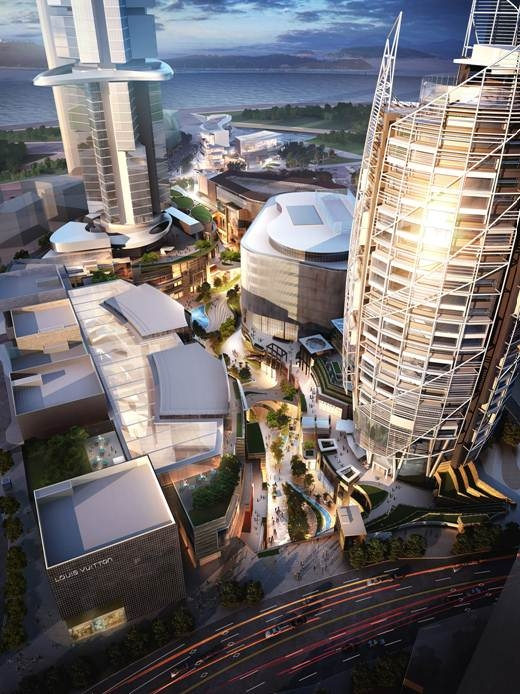 The 34 million square foot, mixed-use district in Seoul is being developed by Dr