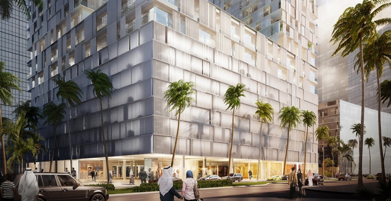 Designs unveiled for 558-foot mixed-use towers in Bahrain's capital
