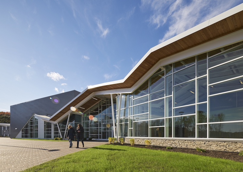Exterior of the new Bancroft Campus