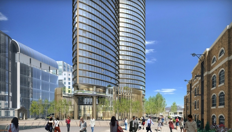 HOK's Hertsmere House will be Western Europe's tallest residential tower