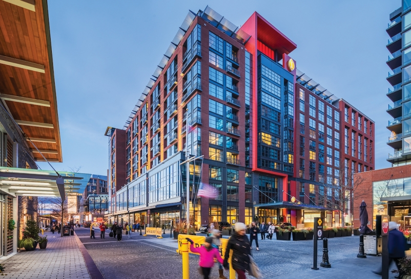 InterContinental Hotel at The Wharf, Washington, D.C., designed by BBGM 2019 Hotel Giants Report, Giants 300 Report