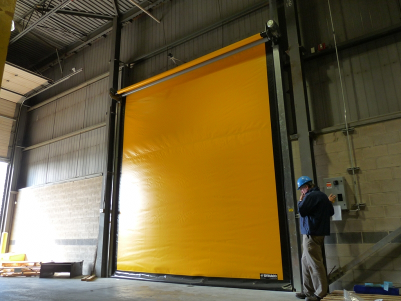 2015 IECC Code recognizes benefits of high-speed doors