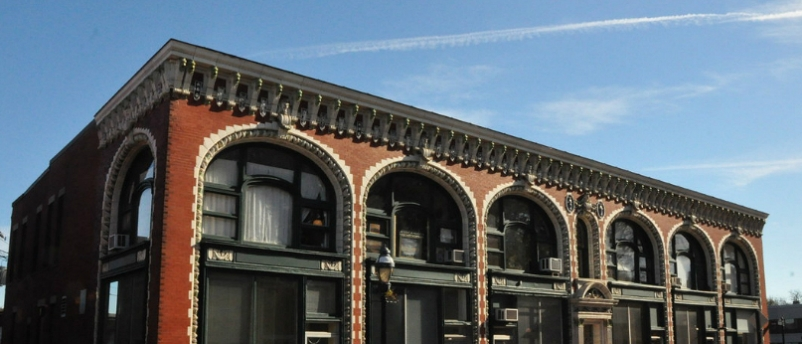 Robust structural frame supports historic building renovation in