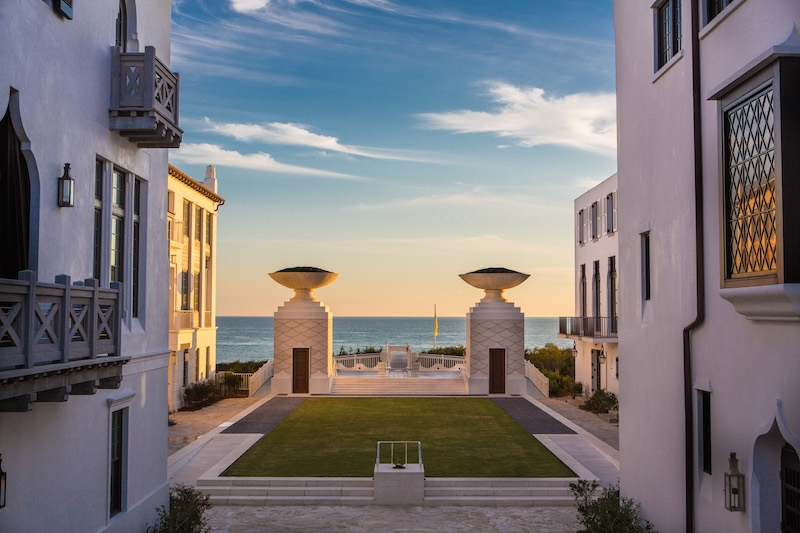Alys Beach A Luxury Residential Community In Western Florida Enforces Building Standards That Protect Its Houses From High Winds Image