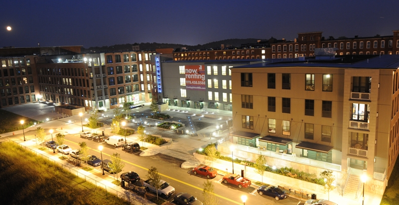 Glulam provides aesthetic, structural, and safety solution for Appleton Mills project
