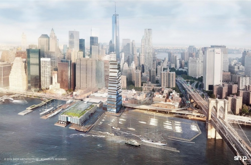 Renderings: SHoP Architects