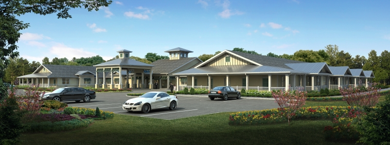 In addition to its 35 studio units and 12 memory care units, the facility will i
