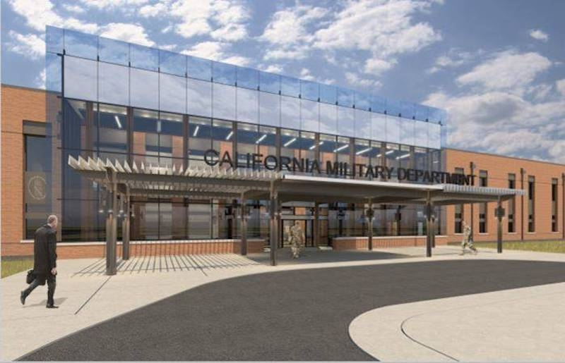 Rendering of exterior of CHQC