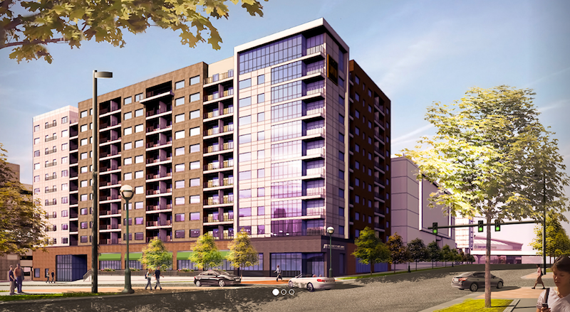 Rendering of the Capitol District Marriott