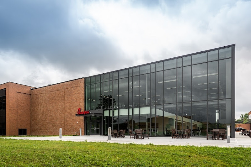 Cedarville University new dining facility addition exterior