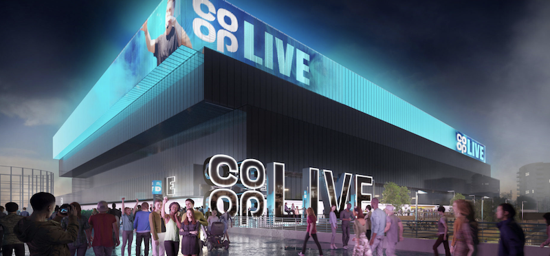 Co-op Live Arena in Manchester
