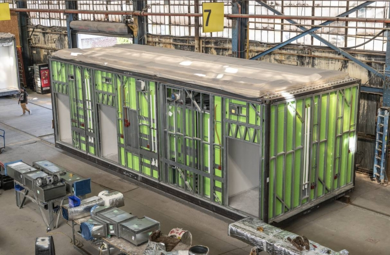 How prefab can enable the design and construction industry to bring much needed beds to hospitals, faster